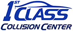 Auto body & Collision Repair Garland | First Class Collision Center Retina Logo